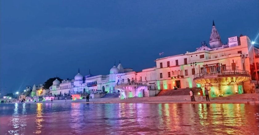 In Pictures: Ayodhya decorated in never seen Avatar evening before Ram mandir bhoomi Pujan