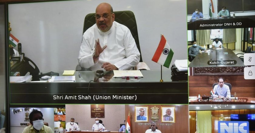 Cyclone Tauktae: Home Minister Amit Shah holds review meet with CMs