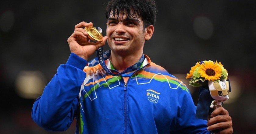 Neeraj Chopra Creates History by winning Gold Medal in Men's Javelin Throw