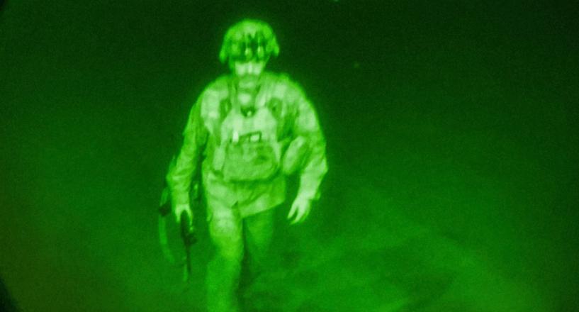 US troops exit: The last American soldier to leave Afghanistan: Maj. Gen. Chris Donahue