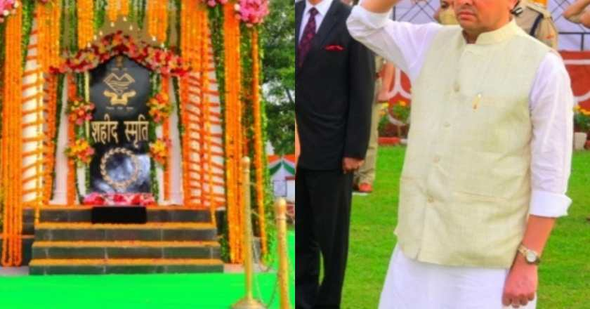 पुलिस स्मृति दिवस पर मुख्यमंत्री धामी ने सिपाहियों को 4600 ग्रेड पे की दी सौगात