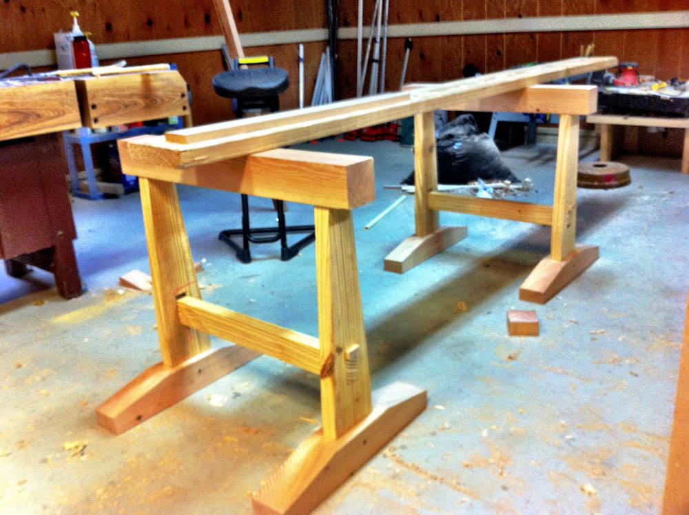 Japanese Trestle Workbench