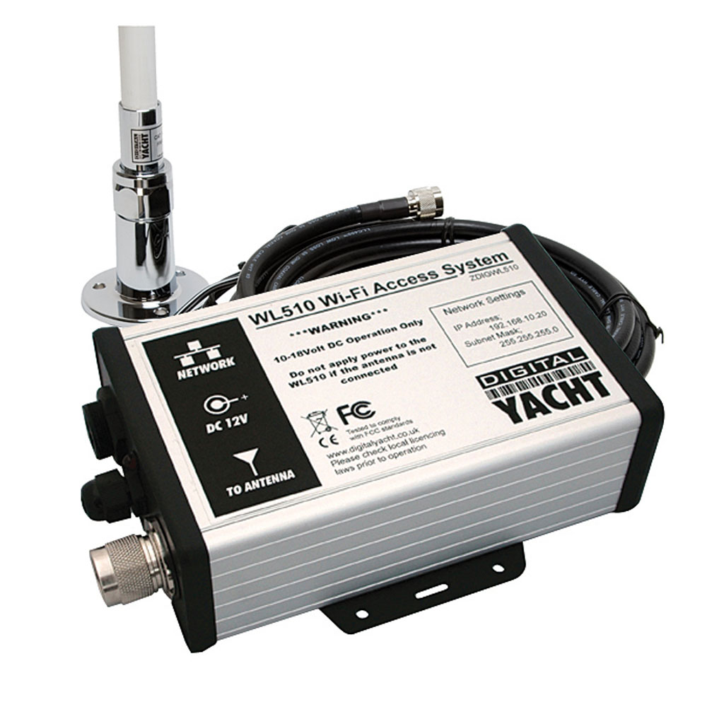 medium resolution of the wl510 is a hi power marine wifi booster with ranges of 4 6nm
