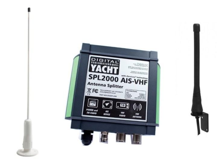Antenne VHF pour AIS (transpondeur/récepteur)