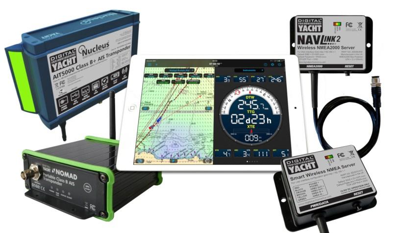 weather4D et digital yacht