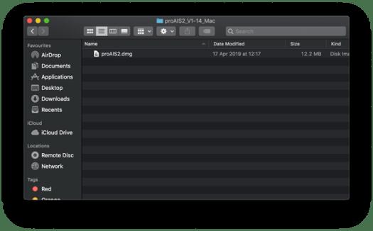 configurer proais2 avec mac
