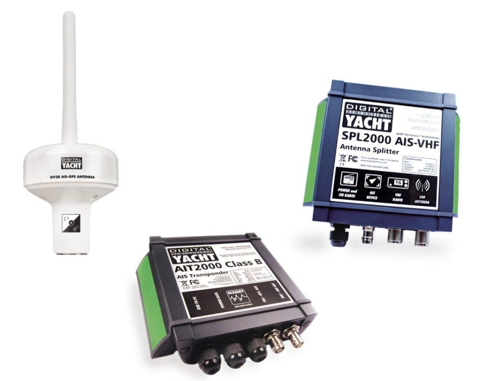 Dedicated VHF Antenna or Splitter