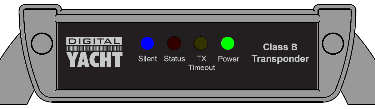 Illuminated Silent Switch for AIS Transponder