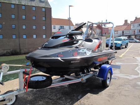 Jetski on Trailer
