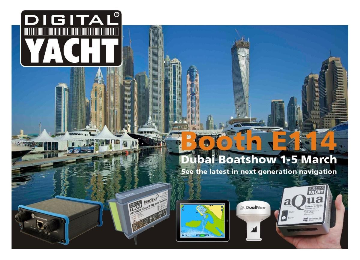 dubai boatshow 2016 invite