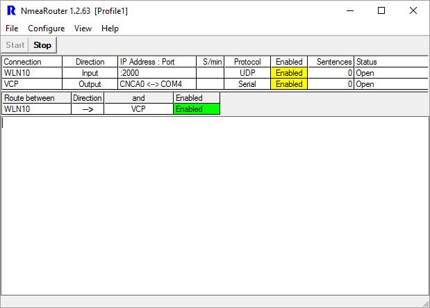 NMEA Router Final Screen