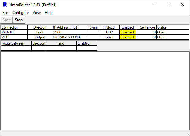 NMEA Router With Connections