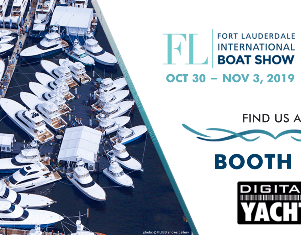 Digital Yacht will be exhibiting at the 2019 Fort Lauderdale International Boat Show