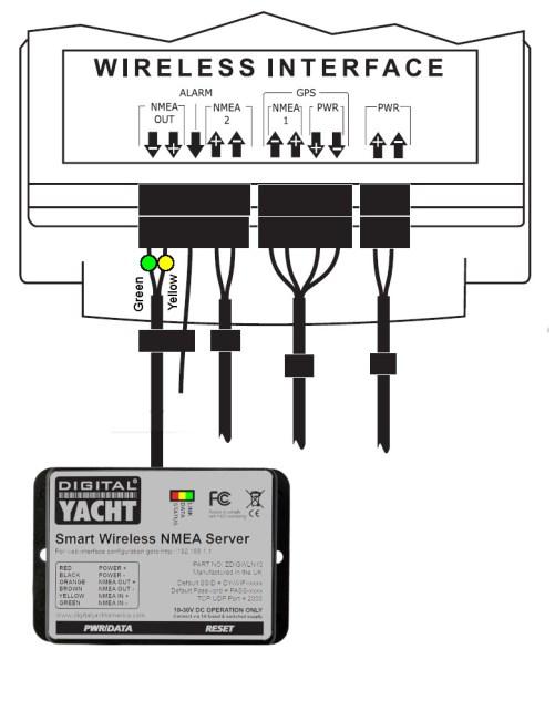 Interfacing WLN10 with Tacktick instruments