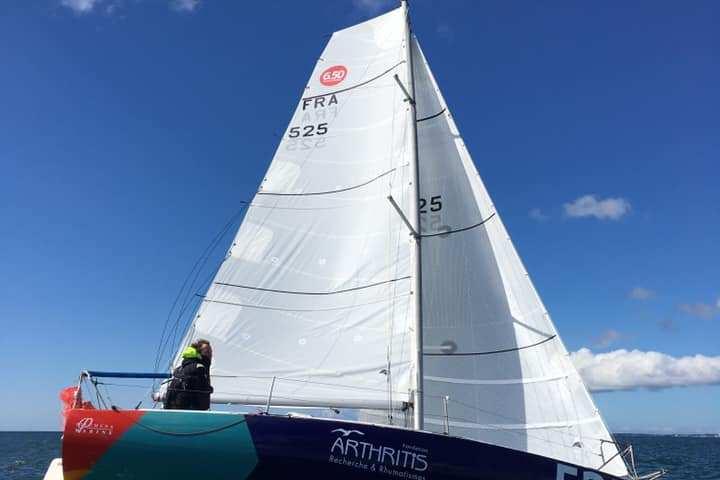 Fonce Alphonse boat for the Mini Transat