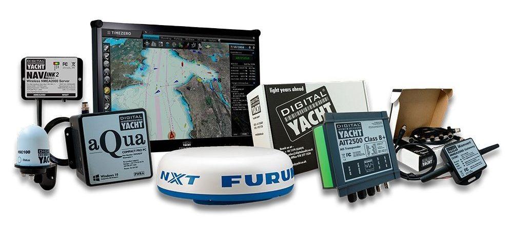 PC with Furuno Radar & Timezero Software
