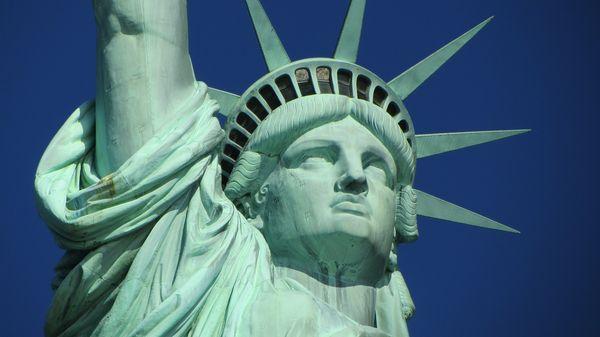 美國紐約自由女神像