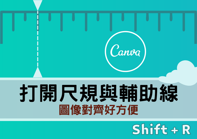 Show Rulers and Gudies in Canva 封面圖片