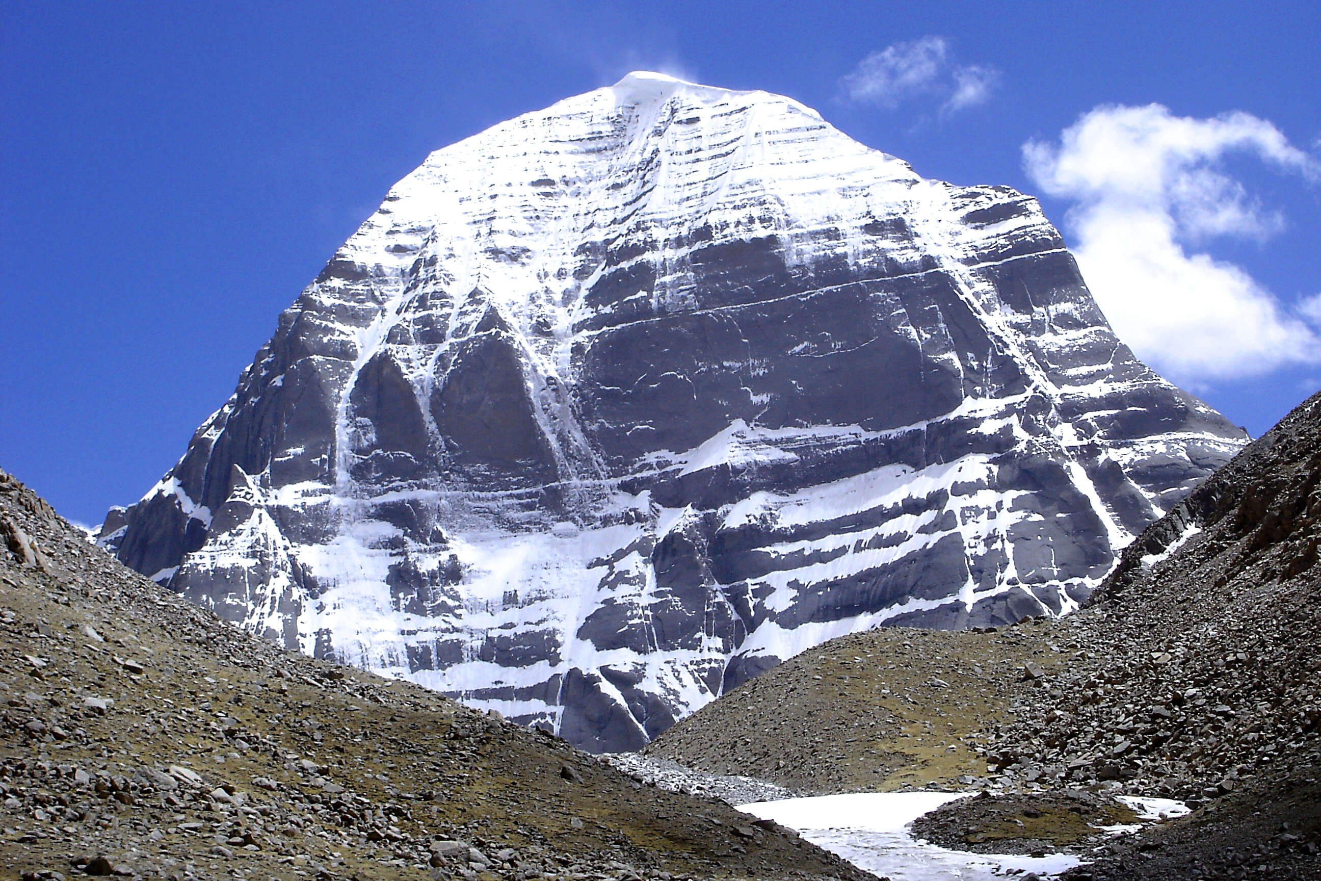 North Face of Mount Kailash -- Tibet