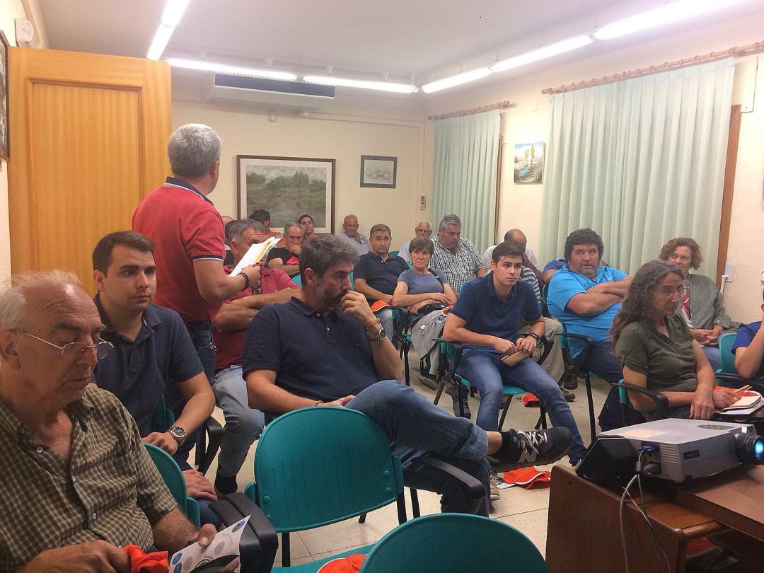 Reunión GELOB – Salón de actos del Ayuntamiento de Buitrago de Lozoya