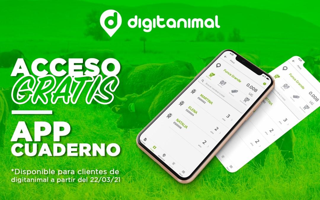 Presentamos Cuaderno, la nueva app de digitanimal