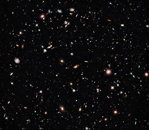 Hubble Deep field image (Image credit: NASA)