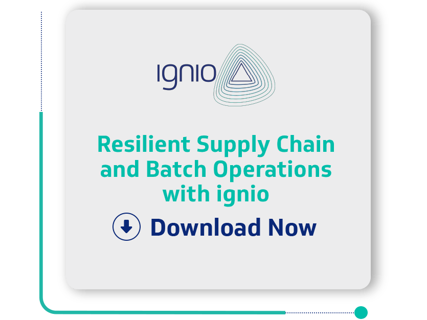 Resilient Supply Chain and Batch Operations with ignio