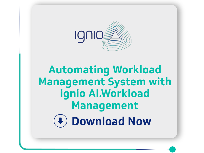 Case Stydy - Automating Workload Management System with ignio AI.Workload Management