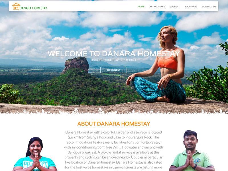 danara homestay project by digitecz.com