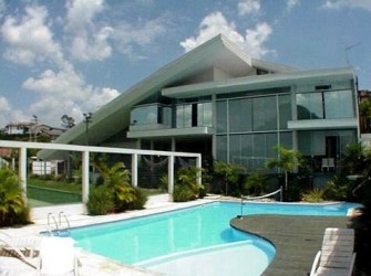 casas luxo piscina digitei casa sonho