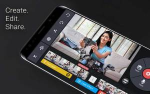 Aplikasi edit video untuk Android - Kinemaster