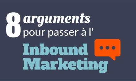 8 arguments pour vous convaincre de passer à l'Inbound Marketing