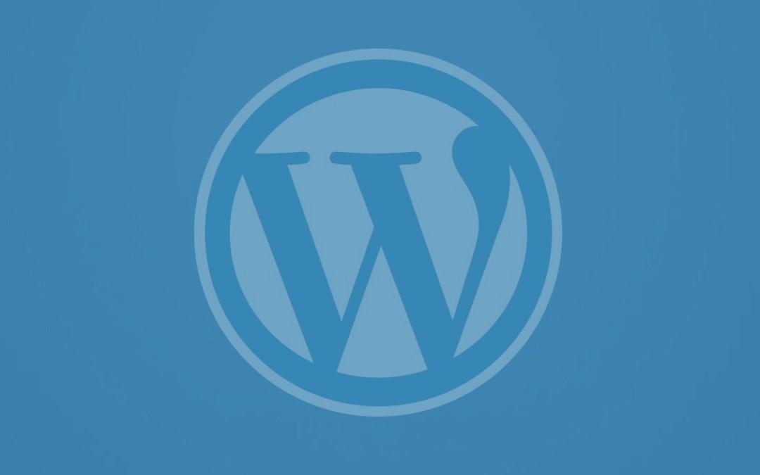 WordPress Cover