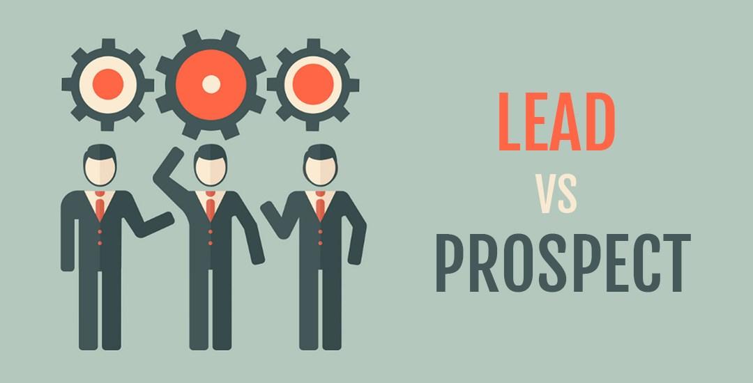 Lead vs prospect