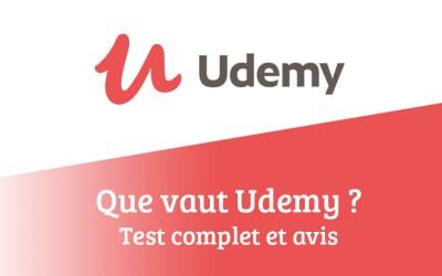 Que vaut Udemy ? Test complet