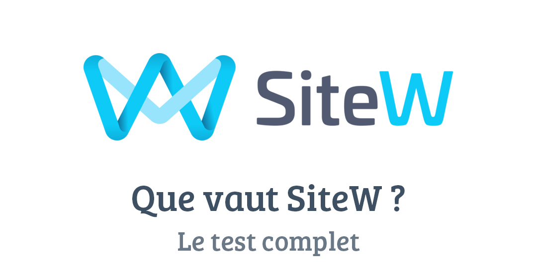 SiteW : La solution française pour créer facilement votre site internet