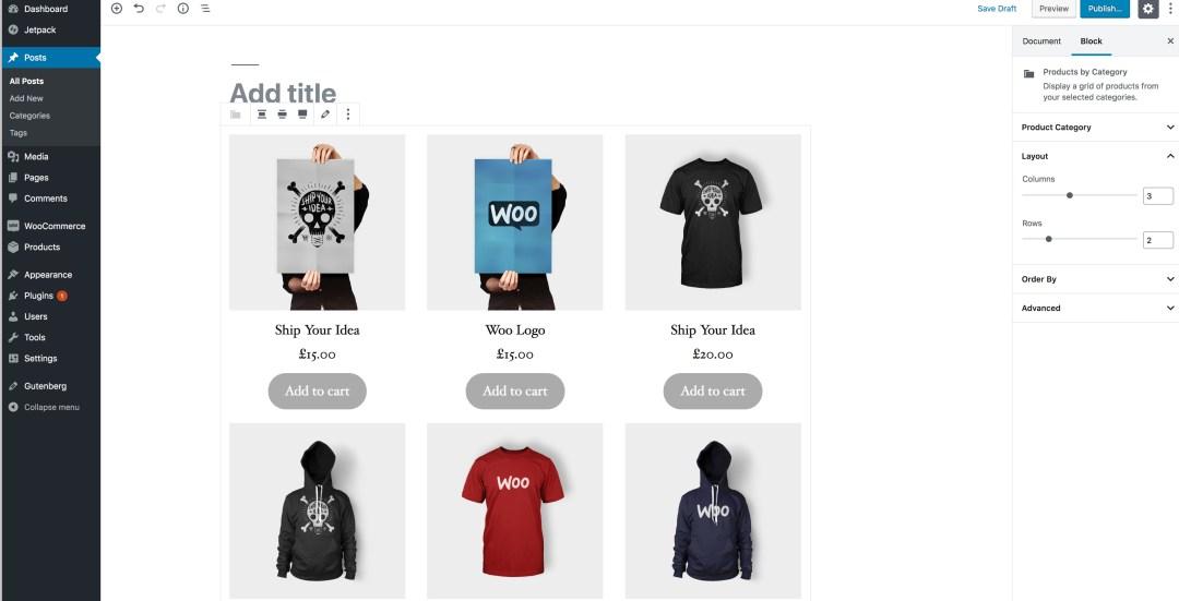 Exemple WooCommerce