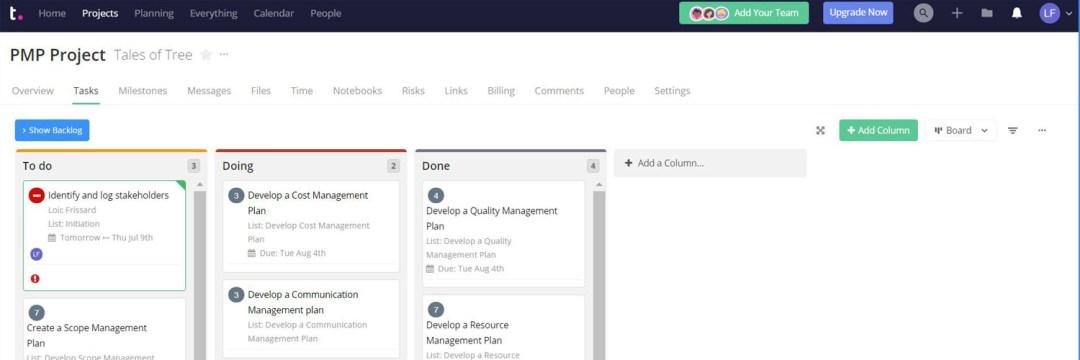 TeamWork Project - Les meilleurs outils de communication pour la gestion de projet