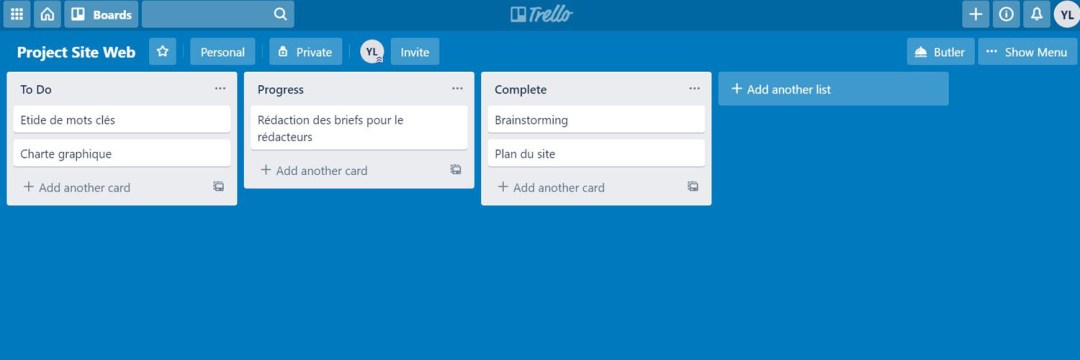 Trello - les meilleures alternatives à MS Project