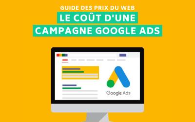 Combien ça coûte une campagne Google Ads