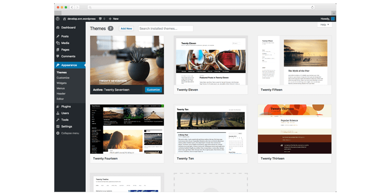 Themes wordpress
