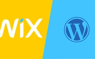 Wix vs WordPress : lequel choisir pour créer votre site
