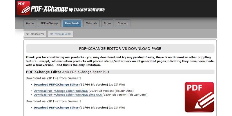PDF-Xchange by Tracker Software