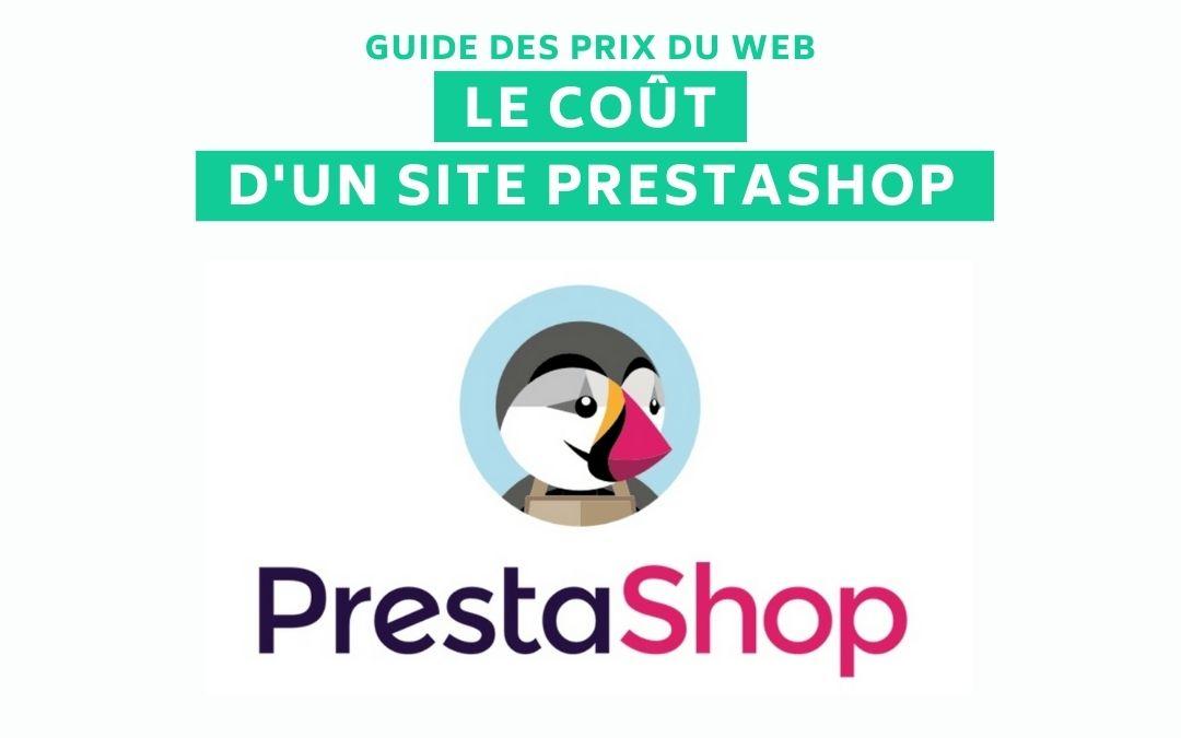 Cout site Prestashop