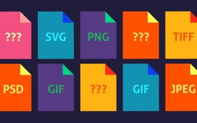 Les différents formats d'image sur le web