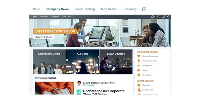 JiveSoftware - réseaux sociaux d'entreprise (RSE)