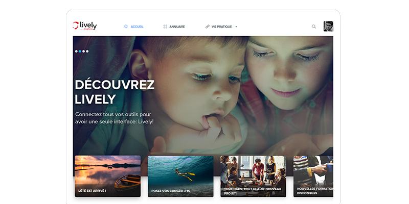 Lively Software-réseaux sociaux d'entreprise (RSE)