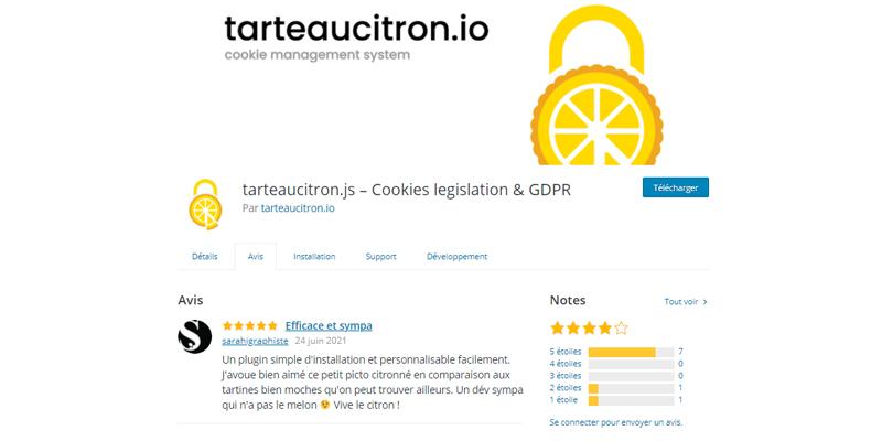 Tarteaucitron