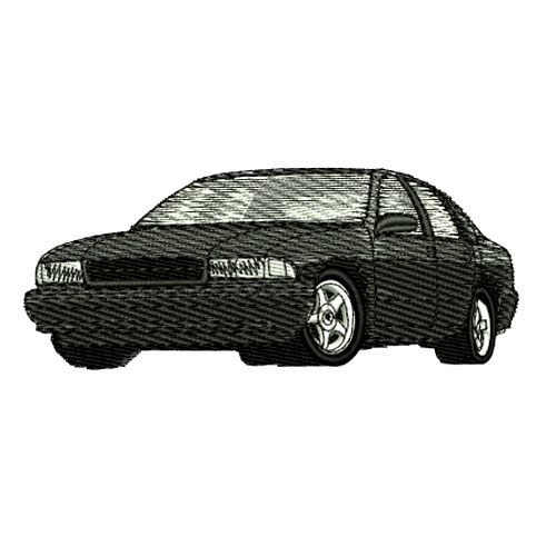 1996 Chevrolet Impala SS Embroidery Design