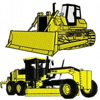 Heavy Equipment Embroidery Designs